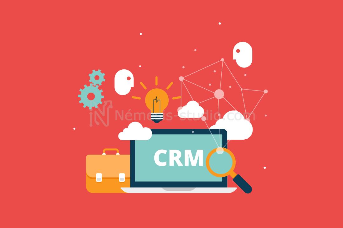 Solution CRM par Némésis studio