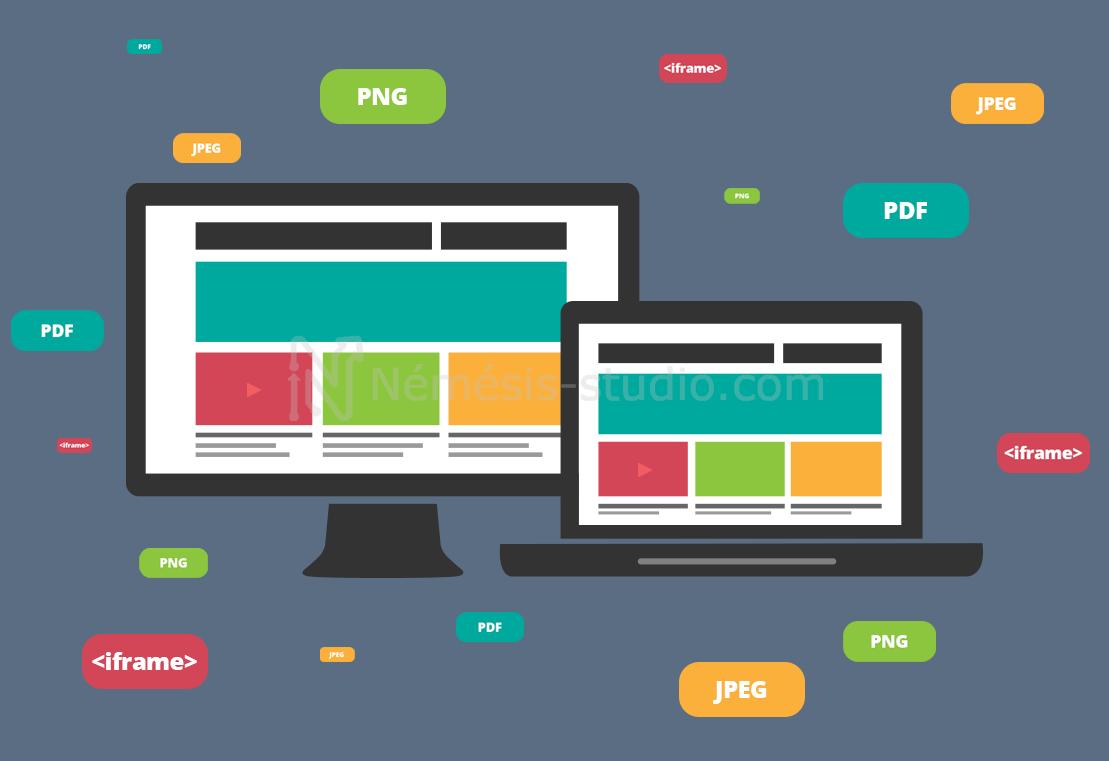 Quels formats privilégier pour les médias de votre site Internet ?