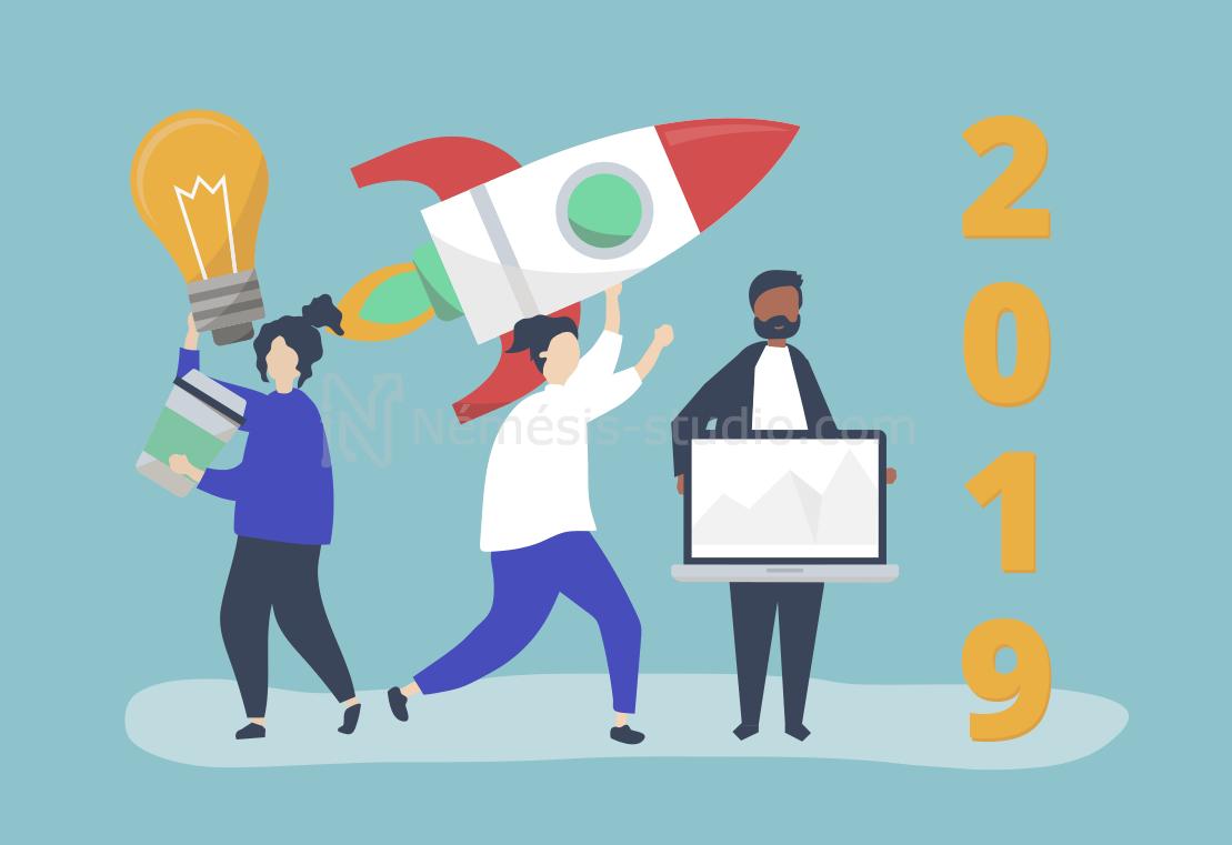 2019 année digitale